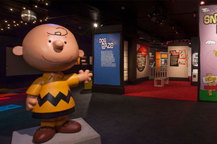 Charlie Brown Exhibit at Museum of Science and Industry