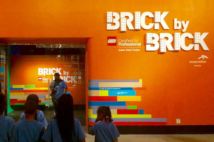 Brick by Brick Exhibit